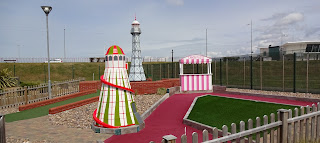 The Local Landmarks Adventure Golf course in New Brighton