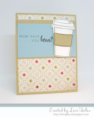 How Have You Bean? card-designed by Lori Tecler/Inking Aloud-stamps and dies from Right at Home