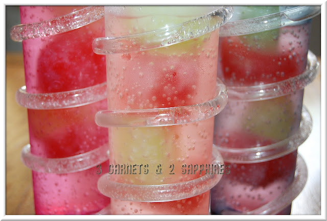 Easy Summertime Popsicle Punch Recipe from 3 Garnets & 2 Sapphires