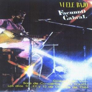Carátula del disco Vuele Bajo (1986)