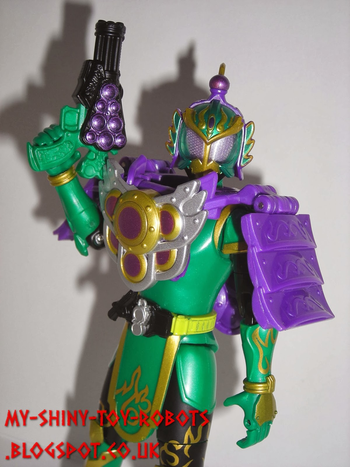 Ryugen Budou Arms ready for action