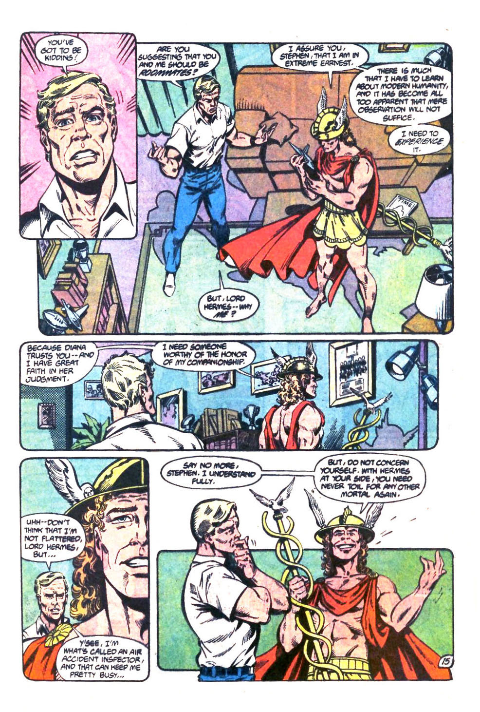 Read online Wonder Woman (1987) comic -  Issue #32 - 16