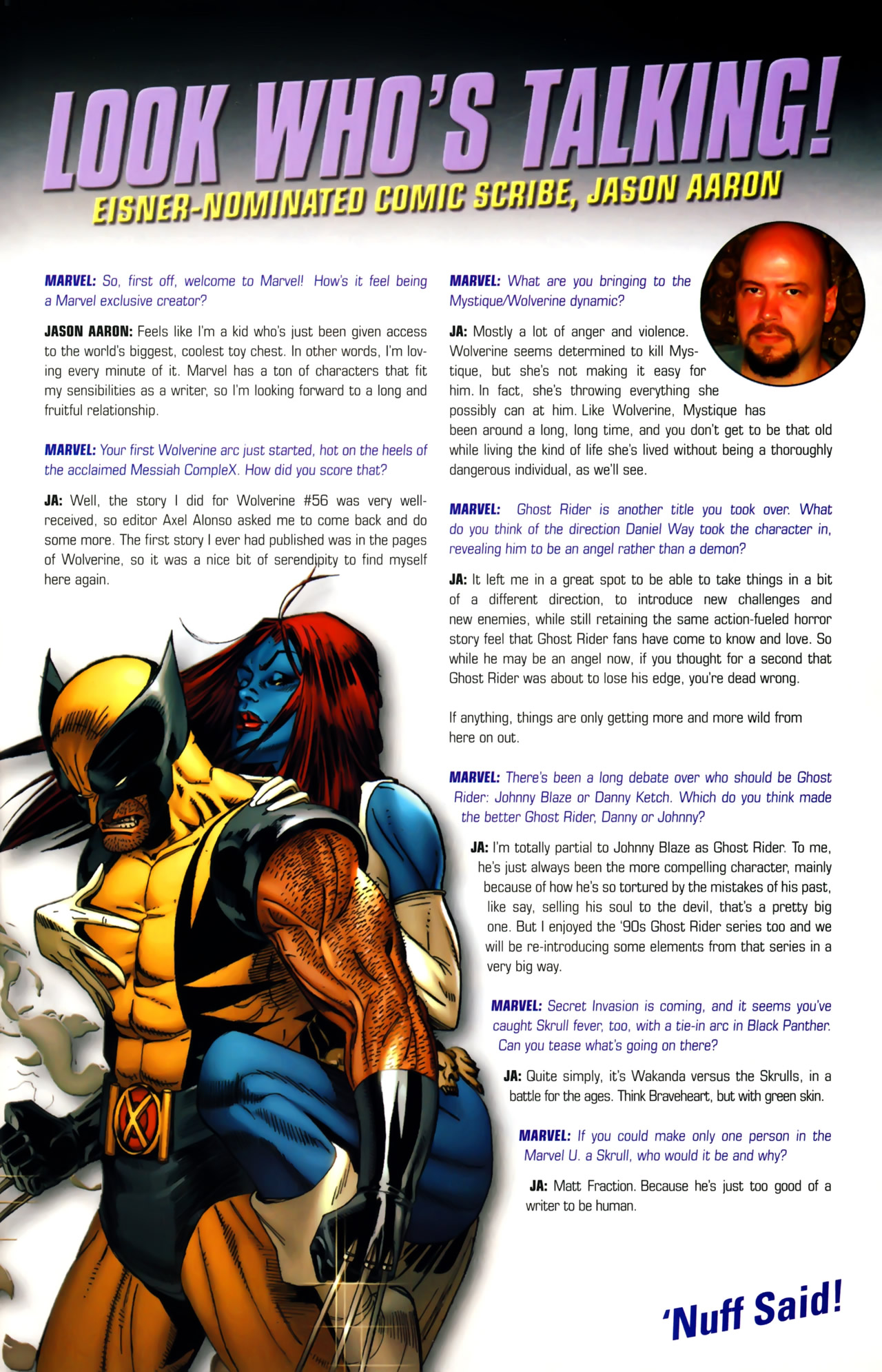 Read online Secret Invasion: The Infiltration comic -  Issue #6 - 27