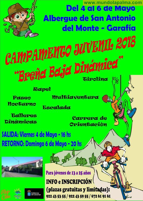 BREÑA BAJA: Inscripciones Campamento Juvenil San Antonio del Monte