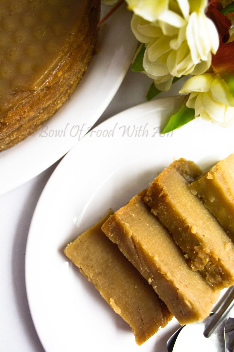 Rice Jaggery Cake Recipe | How to Make Sweet Rice Cake