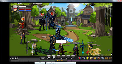 Gameplay AQW on Le Bot 9.9 2019