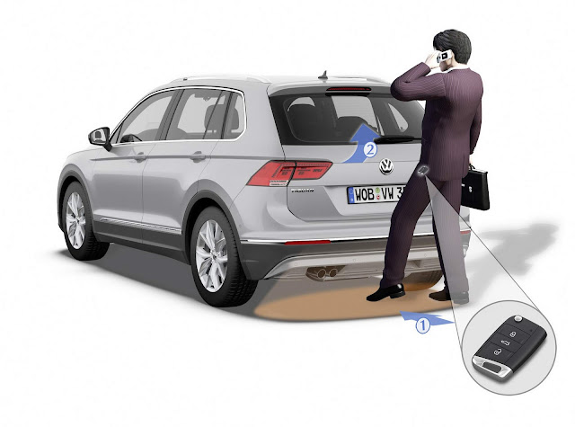 VW Tiguan AllSpace 2019 R-Line- porta-malas com abertura elétrica