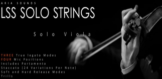 Aria Sounds - LSS Solo Strings - Solo Viola