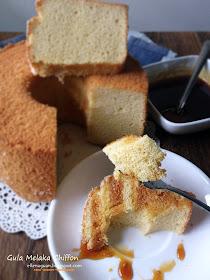 Gula Melaka Chiffon Cake Recipe Singapore