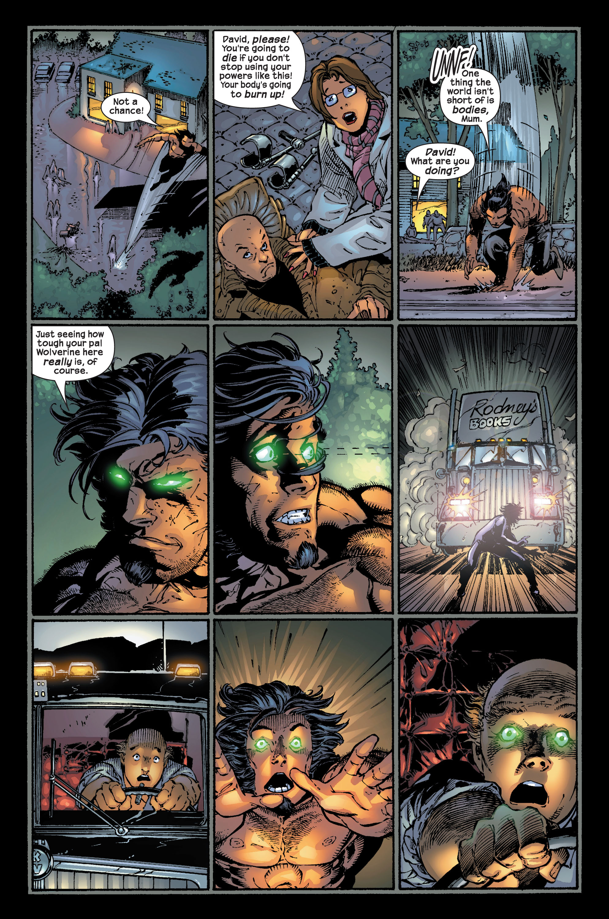 Read online Ultimate X-Men comic -  Issue #17 - 17
