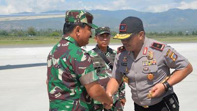 Panglima TNI Kunjungan Kerja  Palu