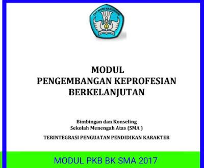 Modul PKB Guru BK 2017 Pedagogik dan Profesional
