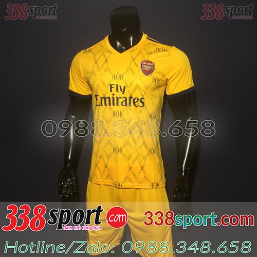 Áo Câu Lạc Bộ Arsenal Vàng 2019 2020 Training 7