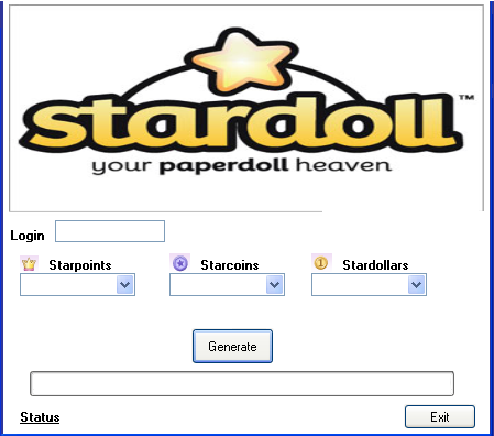 Hack stardoll accounts free download