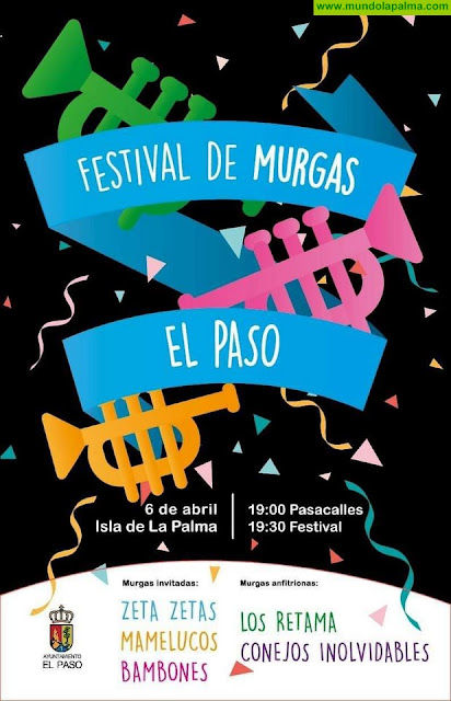 Este sábado festival de murgas en El Paso