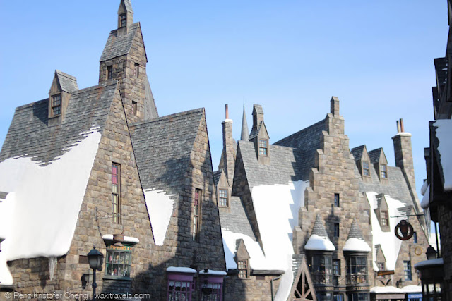 Diagon Alley in Winter - Universal Studios Japan