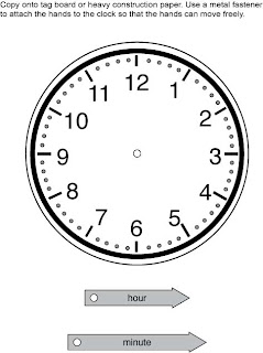 Excel Math: Time for Analog Clocks