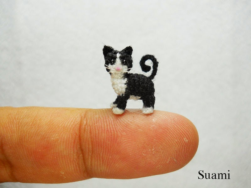 adorable tiny miniature crochet animals su ami-7