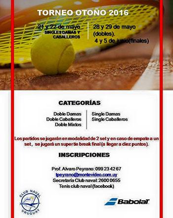 Inscripciones abiertas para el torneo oto o 2016 del for Inscripciones jardin 2016 uruguay