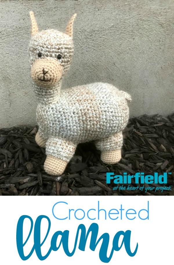 5 Little Monsters Crocheted Llama