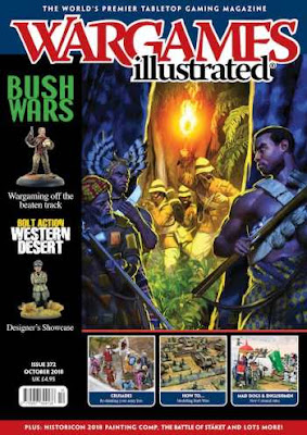 Wargames Illustrated 372, October 2018