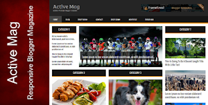 Active Mag Magazine Responsive Template