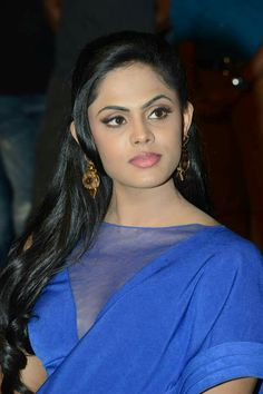 lipstick for royal blue dress karthika nair
