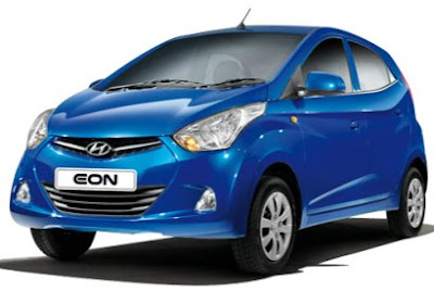 New Hyundai EON Blue image