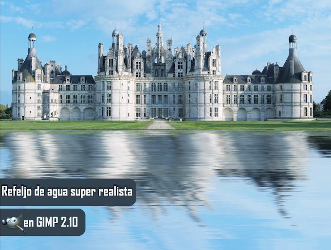 Como hacer un reflejo de agua super realista en gimp 2.10
