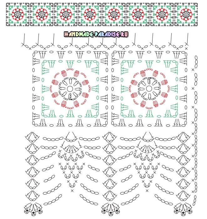 Курочка крючком на полотенце (5)