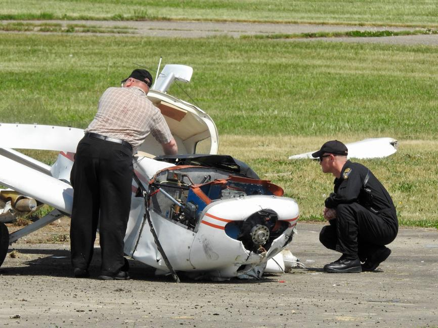Kathryn's Report: Grumman AA-1B Trainer, N6550L: Accident occurred