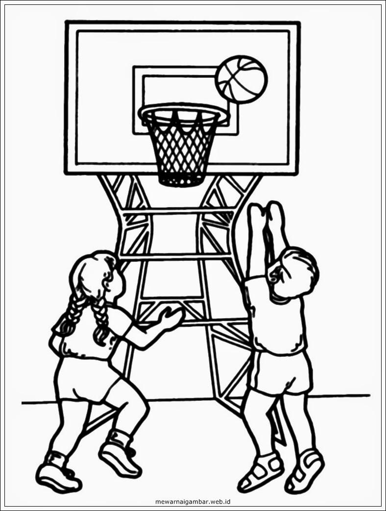 Gambar Bermain Basket Kartun : gambar, bermain, basket, kartun, Gambar, Kartun, Pemain, Basket, Aliansi