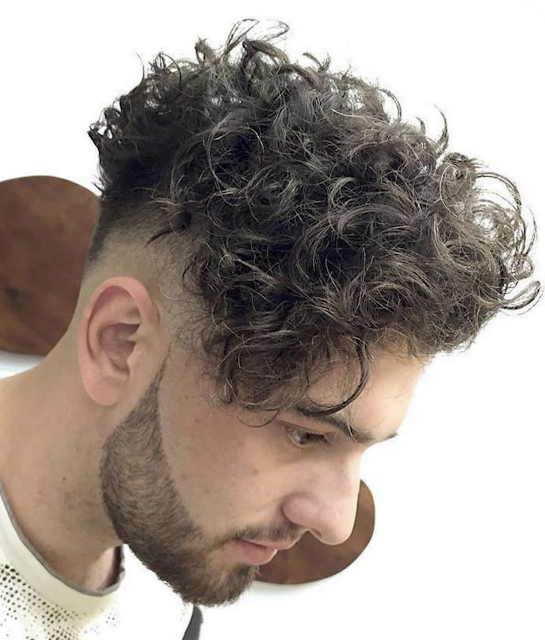 curly short hairstyles for men 2019
