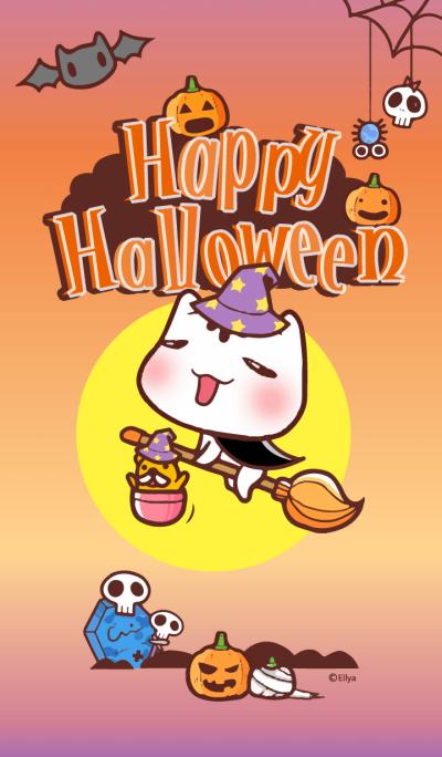 Happy Halloween with Po-chan (Ellya)
