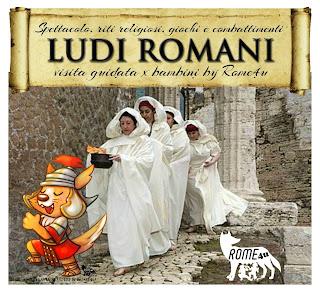 I Ludi Romani spiegati ai Bambini: spettacolo, riti religiosi, gare e combattimenti - Visita guidata per bambini Roma