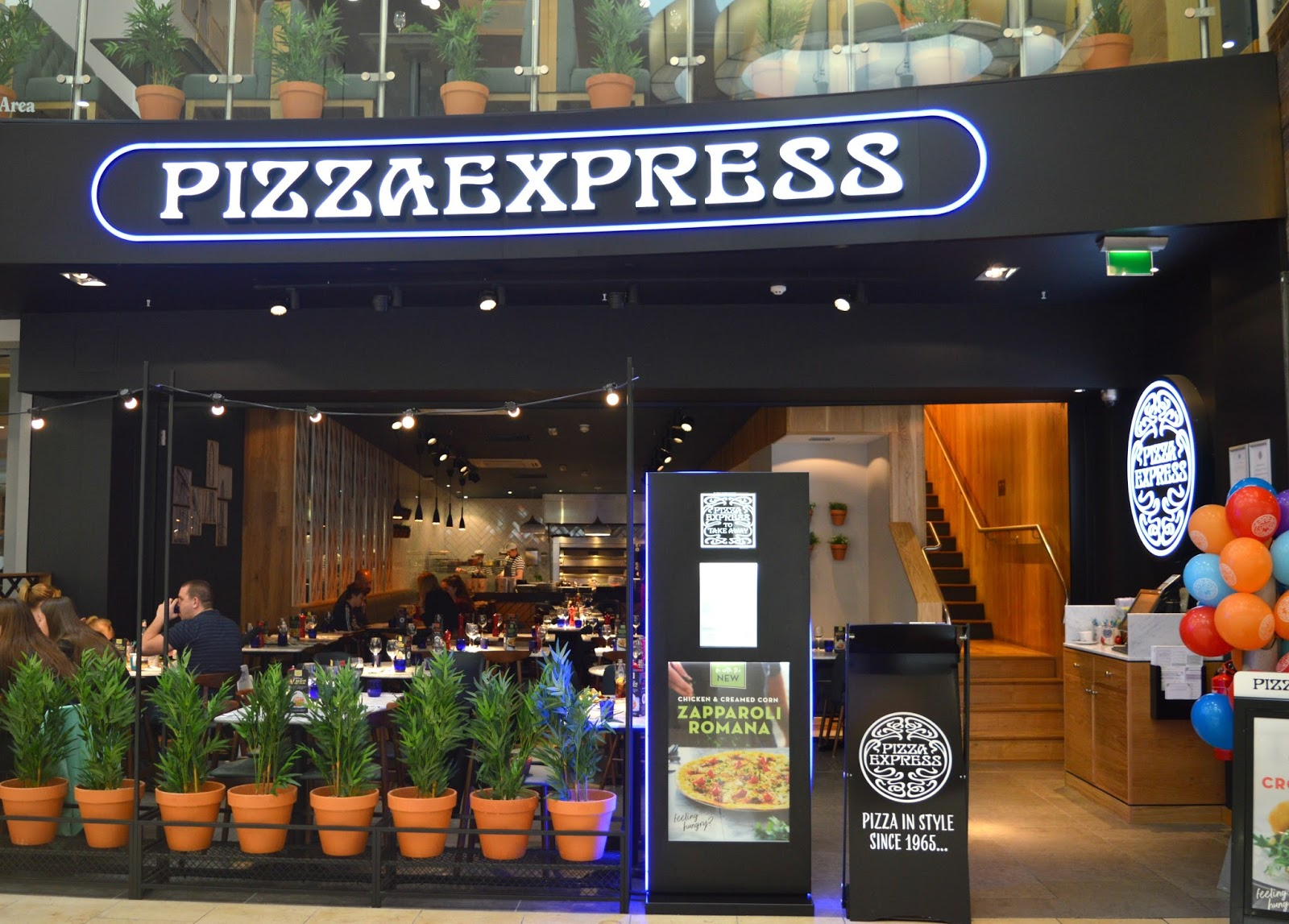 Healthy Eating at Pizza Express Metrocentre