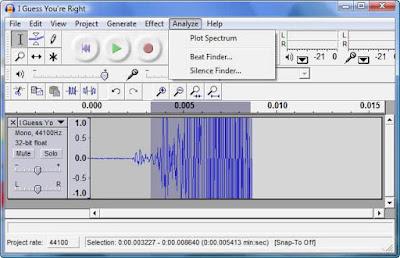 ميزات برنامج Audacity 2.1 لتسجيل وتحرير الصوتيات