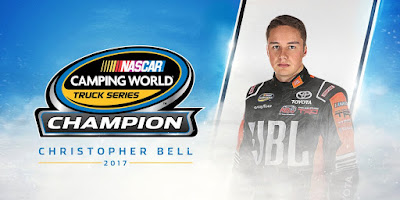Christopher Bell Wins NASCAR Camping World Truck Series Championship