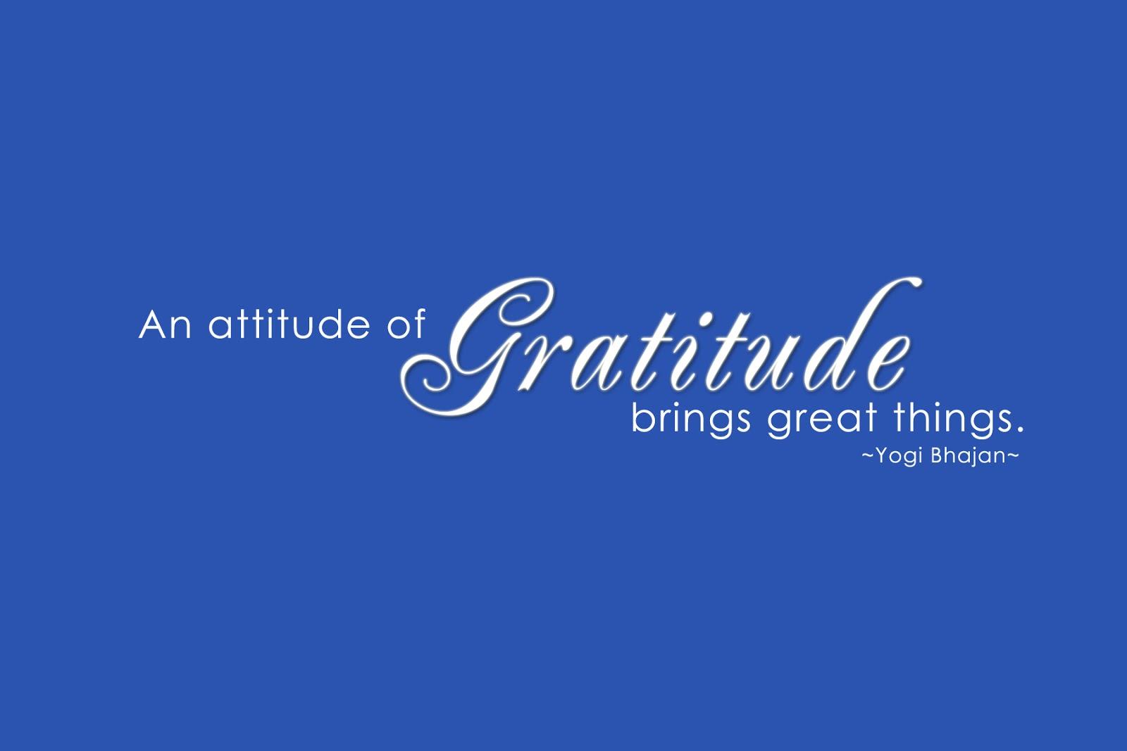 Gracearity An Attitude Of Gratitude