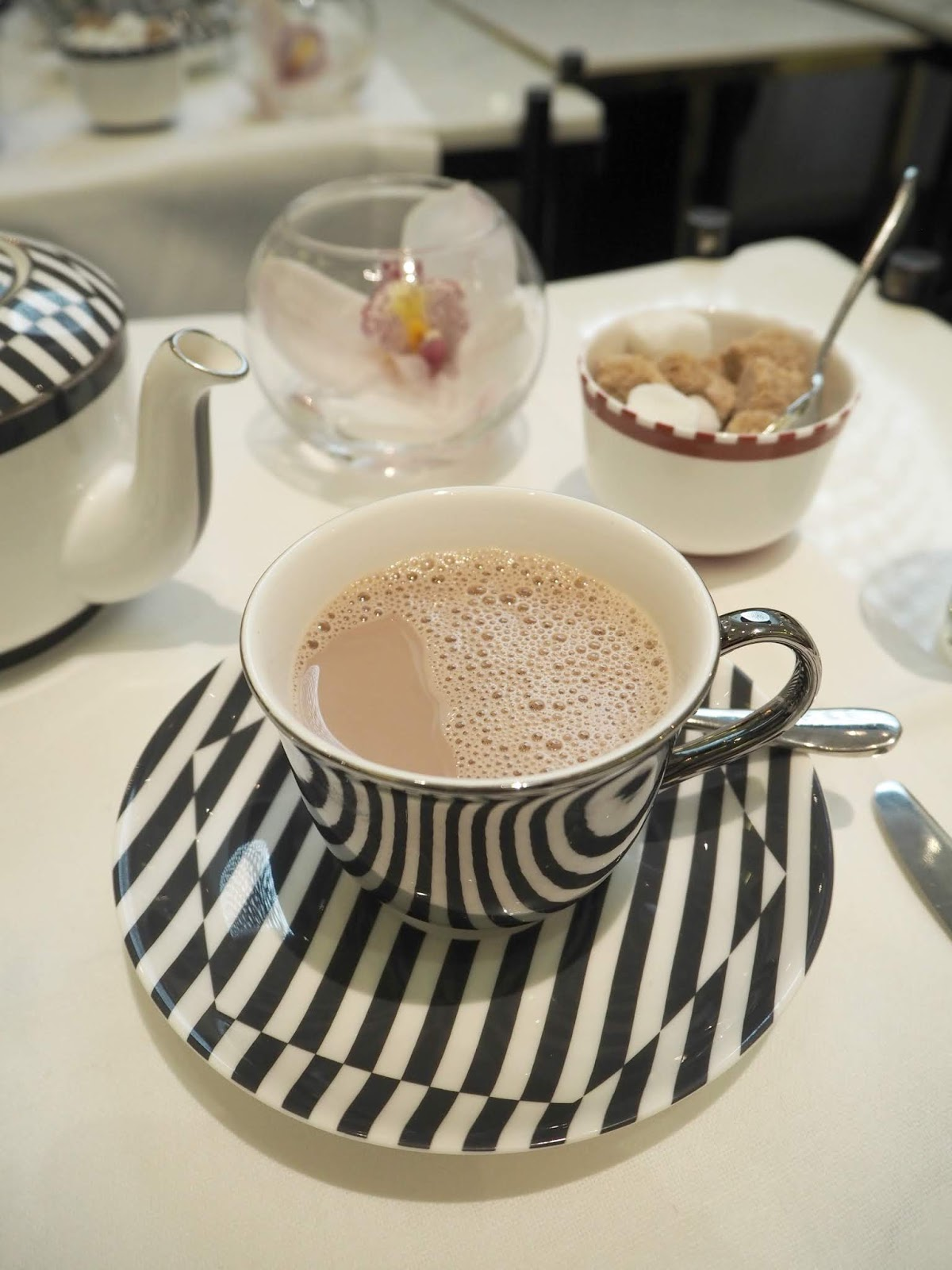 Hot Chocolate served at The Corinthia London