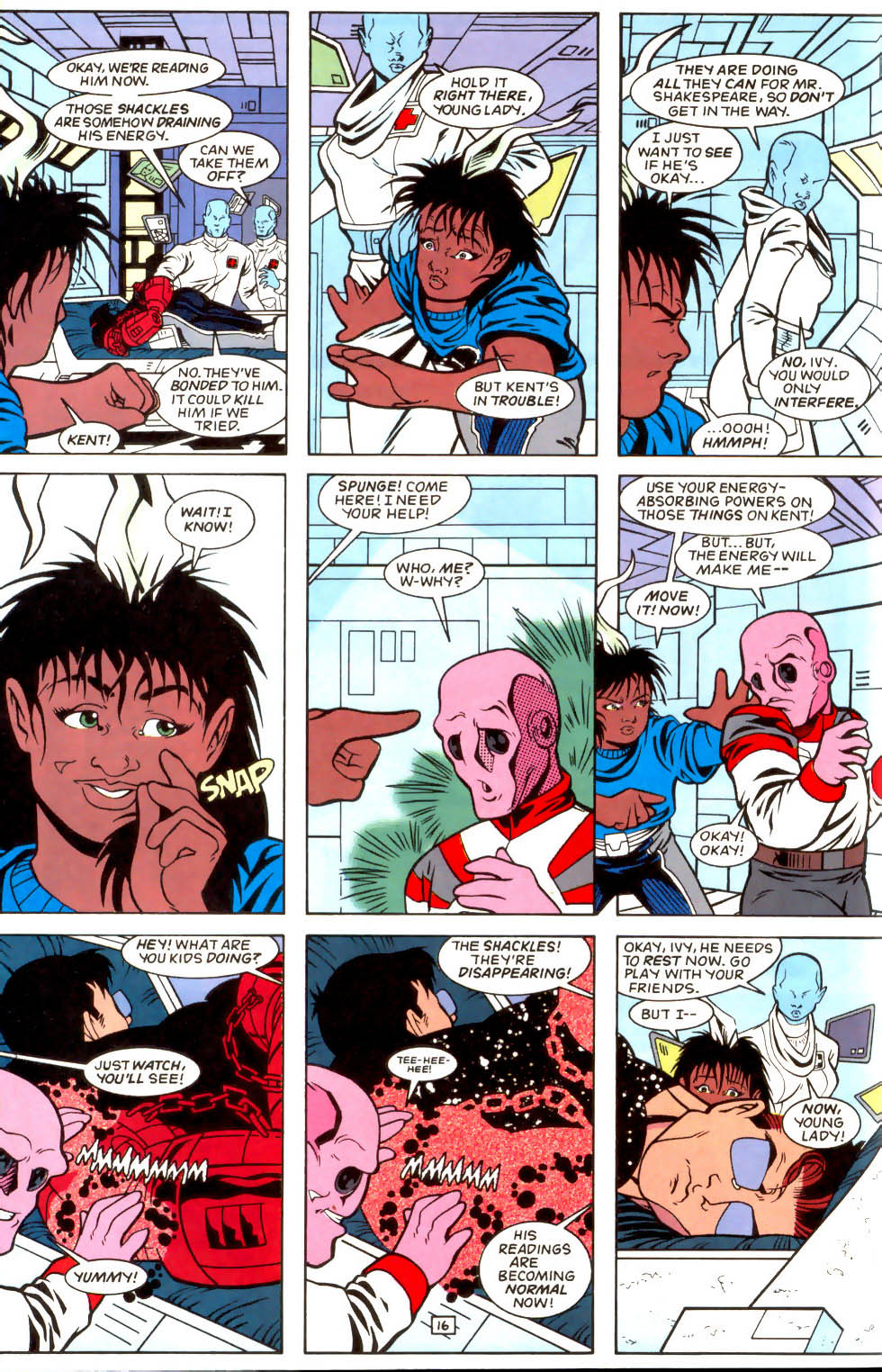 Legion of Super-Heroes (1989) 51 Page 16