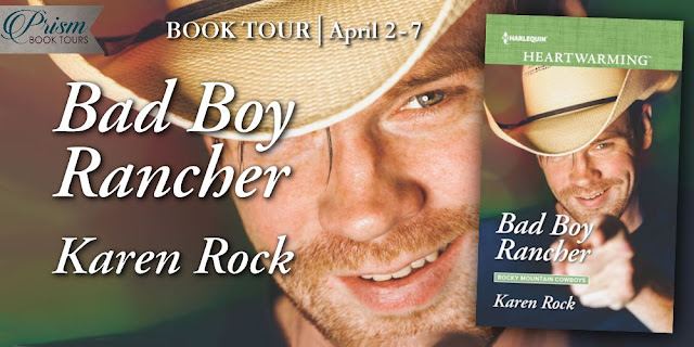 Bad Boy Rancher by Karen Rock banner