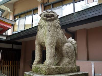 神津神社狛犬