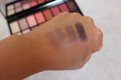Makeup Revolution New-trals vs Neutrals eyeshadow swatches