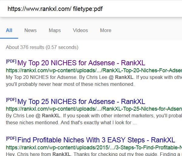 free ebooks pdf using google search