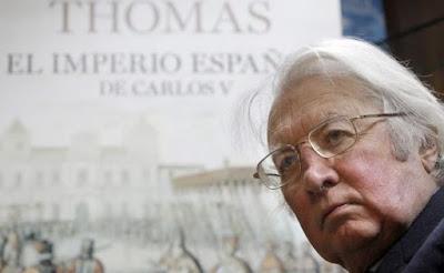 Hugh Thomas en la BUMU.