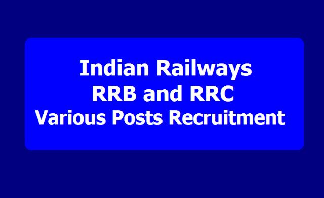 Indian Railways RRB, RRC Recruitment