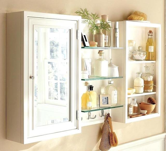 kitchen glass display wall units