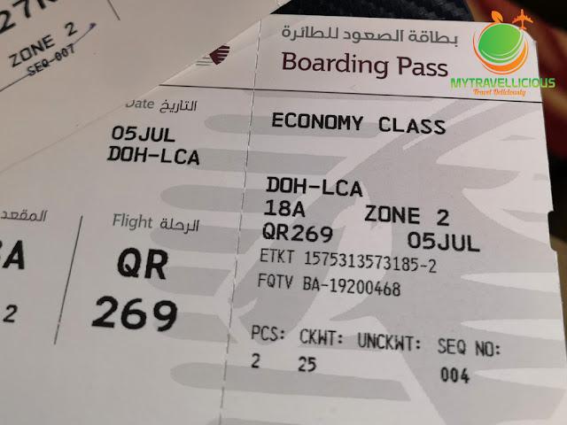 Review Qatar Airways Qr269 A320 Economy Class Doha Larnaca
