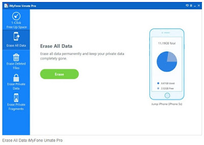 Erase All Data iMyFone Umate Pro